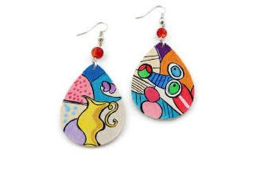 custom Pablo Picasso Souvenir Earrings wholesale manufacturer and supplier in China