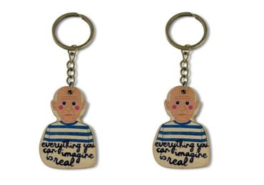 custom Pablo Picasso Souvenir Keychain wholesale manufacturer and supplier in China