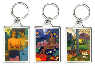 custom Paul Gauguin Acrylic Keychain wholesale manufacturer and supplier in China