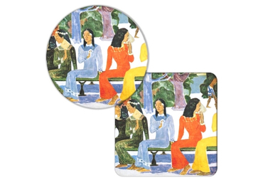 custom Paul Gauguin Cork Coaster wholesale manufacturer and supplier in China