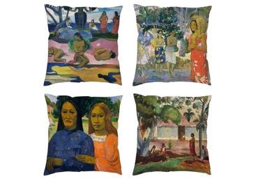 custom Paul Gauguin Cotton Pillows wholesale manufacturer and supplier in China