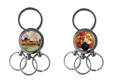 custom Paul Gauguin Epoxy Keychain wholesale manufacturer and supplier in China