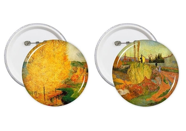 custom Paul Gauguin Souvenir Badges wholesale manufacturer and supplier in China