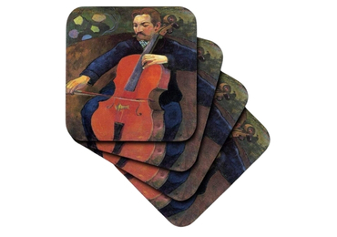 custom The Guitarist Souvenir Coaster wholesale manufacturer and supplier in China