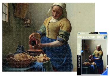 custom The Milkmaid Jigsaw Puzzles wholesale manufacturer and supplier in China