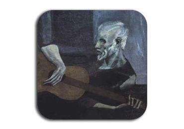 custom The Old Guitarist Coaster wholesale manufacturer and supplier in China